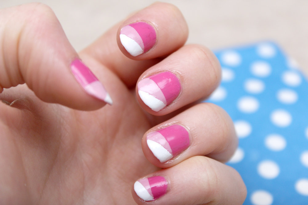 pink geometric nail art side.jpg