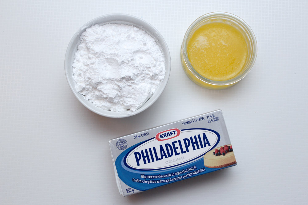 cream cheese butter icing sugar for the best icing ever.jpg