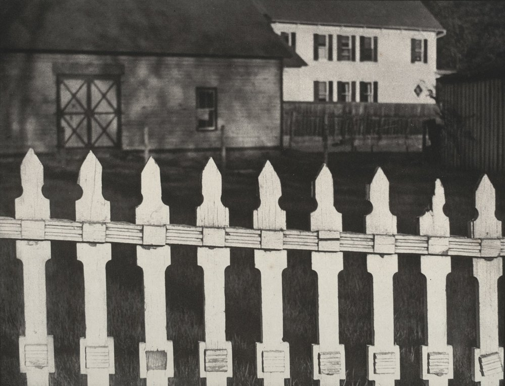Paul Strand (American, 1890–1976).  White Fence.  1916.