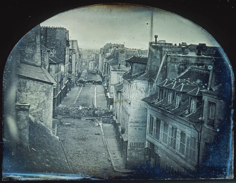 Thibault.  Barricades on Rue Saint-Maur, June 25, 1848 . Paris, 1848.