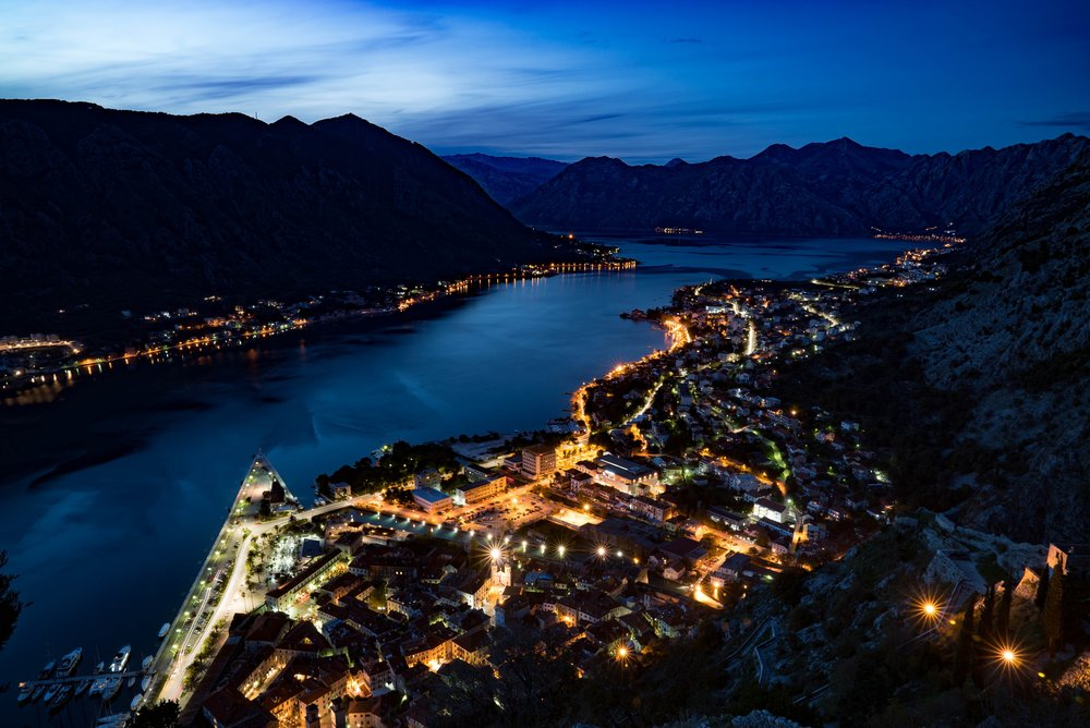 Kotor Bay from the Fotress.
