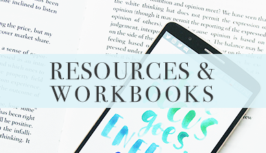 Resources and workbooks for readers and storytellers by Kym Writes