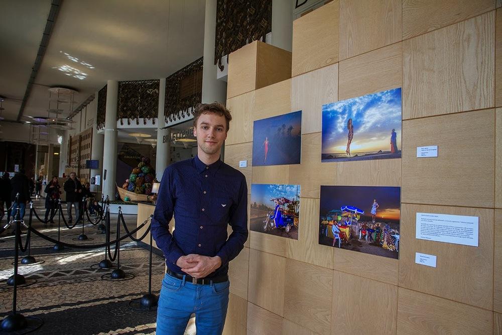 Christian Mamoun expose au Palais de la porte dorée - musée de l'histoire de l'immigration