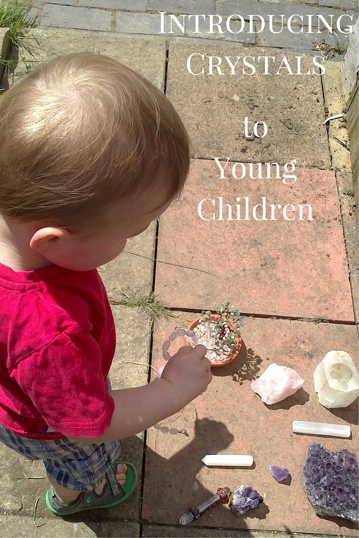 Introducing Crystals to young Children