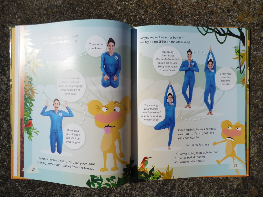 Inside Lulu the Lion Cub Learns to Roar by Jaime Amor - A Cosmic Kids Yoga Adventure Book