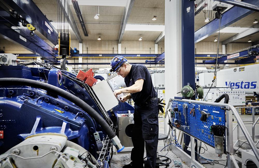 Vestas, Industry Training, Wind turbine operator