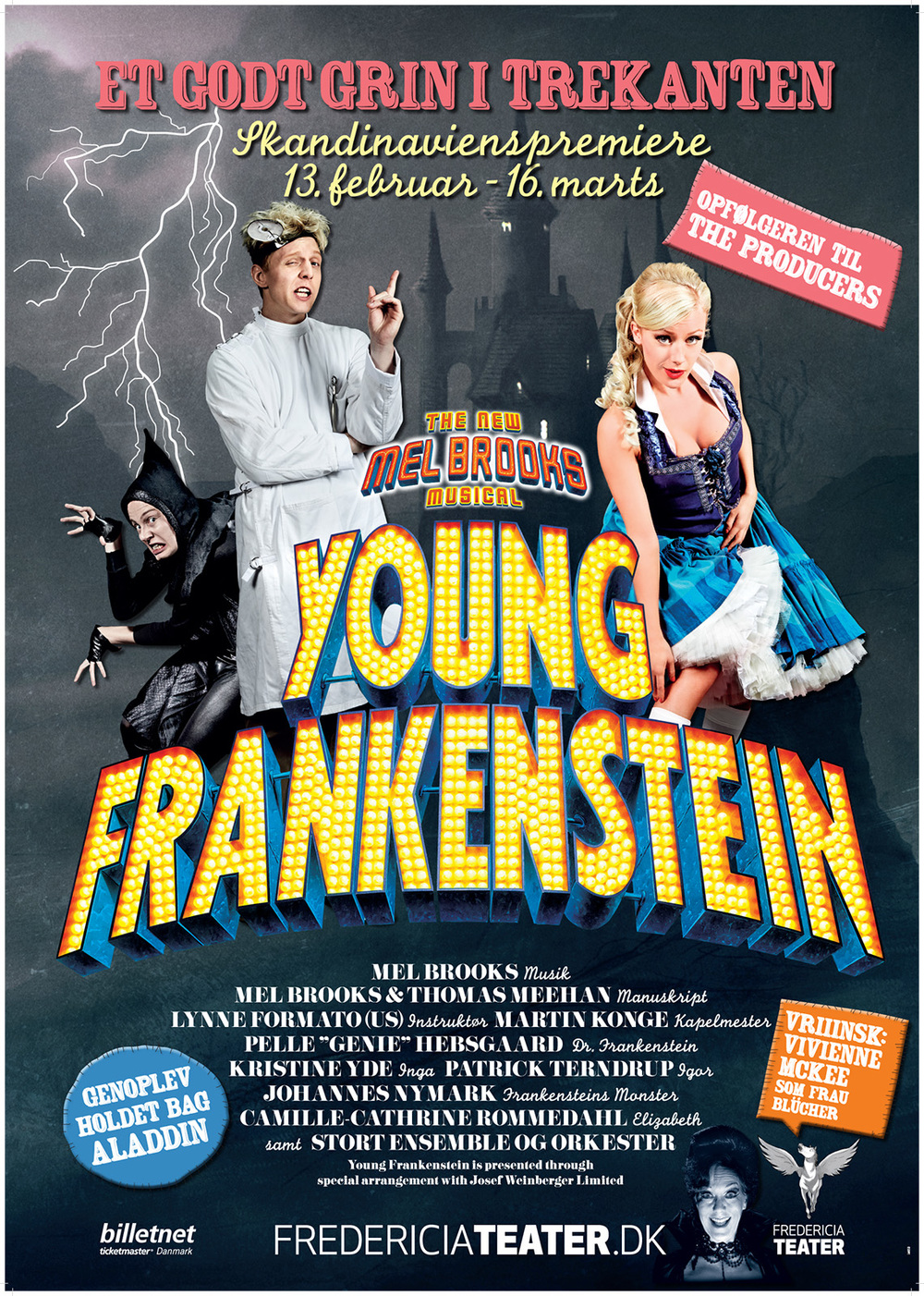 Young Frankenstein The Musical Fredericia Theatre