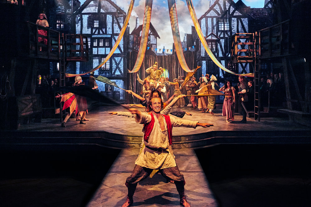 The Hunchback of Notre Dame - Disney  Musical  Fredericia Theater production  fredericiateater.dk