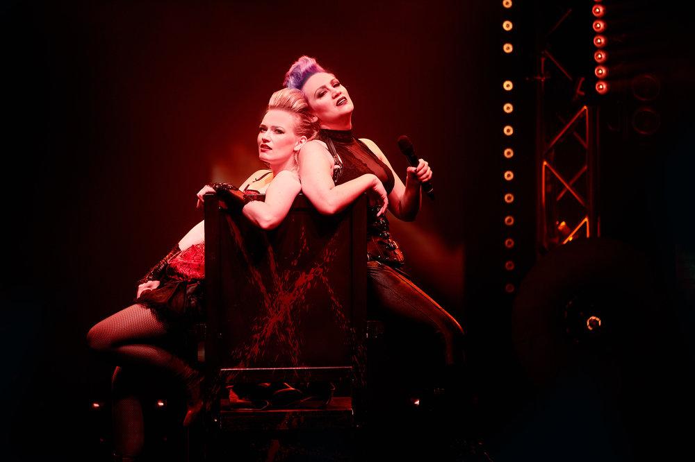 LIZZIE  Fredericia Theatre  and  Greenwich Theatre, London.  UK - version