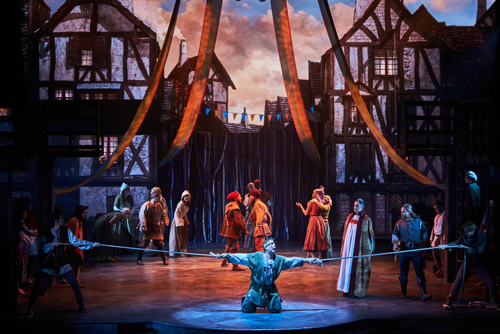 The Hunchback of Notre Dame - Disney  Musical - Copenhagen - Royal Theater  Fredericia Theater production  fredericiateater.dk