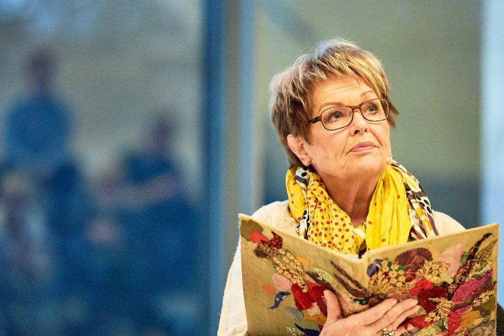Githa Nørby, Actor, `Ripples Of Hope´, Amnesty International,       Event at smk.dk