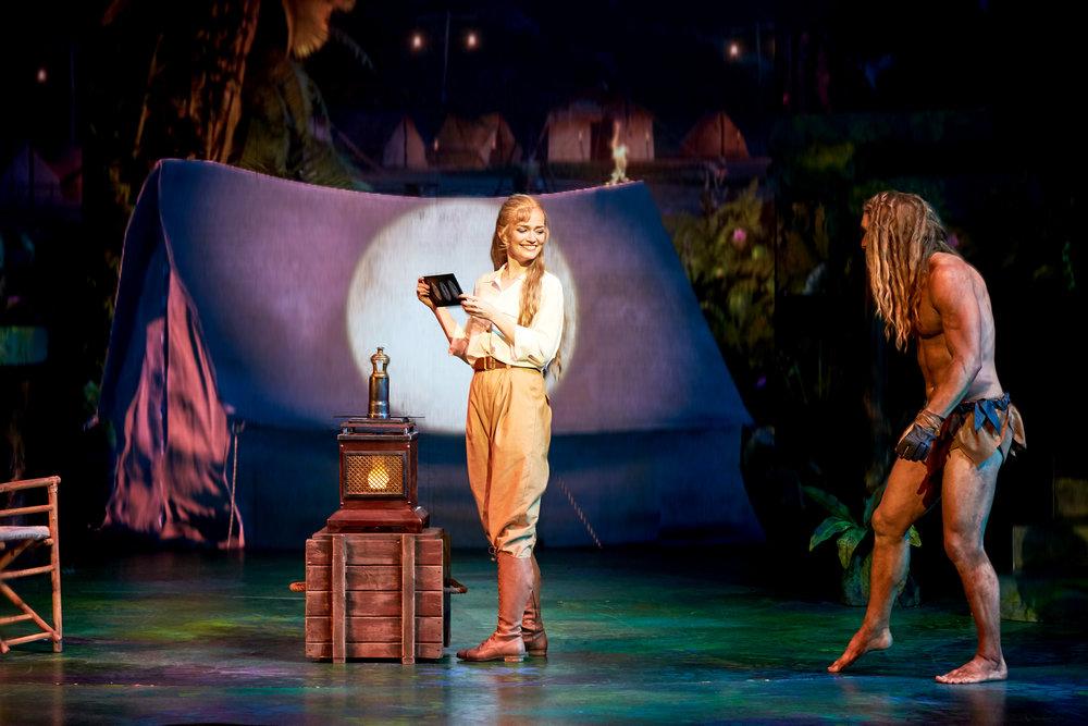 Press photos - Tarzan - Disney - Musical, Fredericia Theater