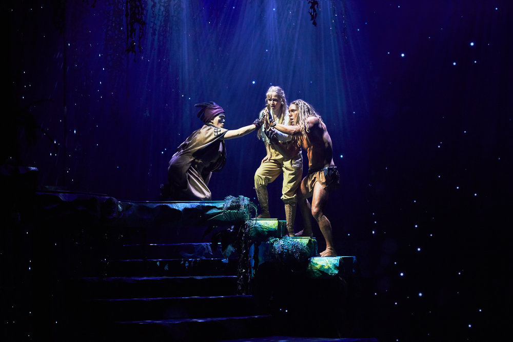 Tarzan, Disney - musical - Press photos - Fredericia Theater