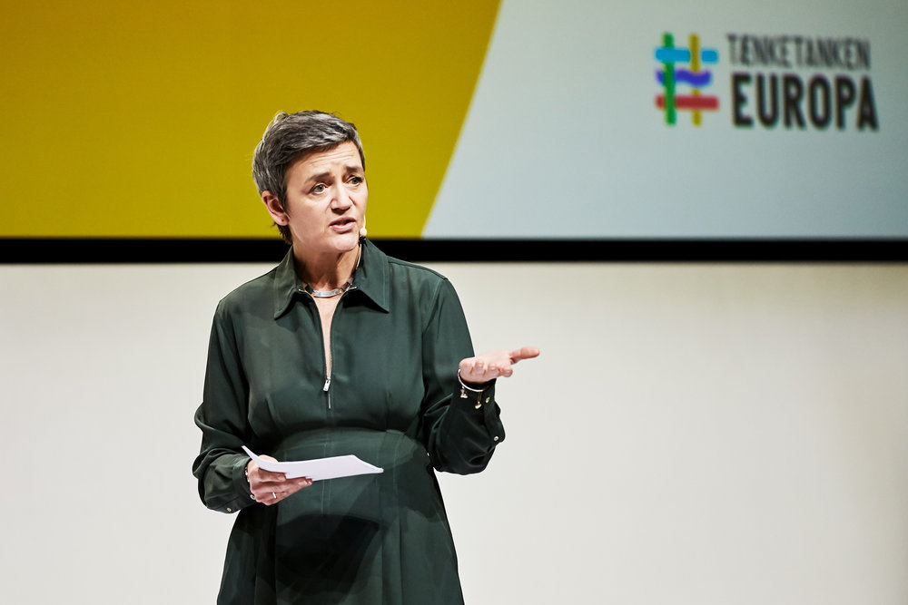 Margrethe Vestager, Europakonferencen 2019, http://thinkeuropa.dk