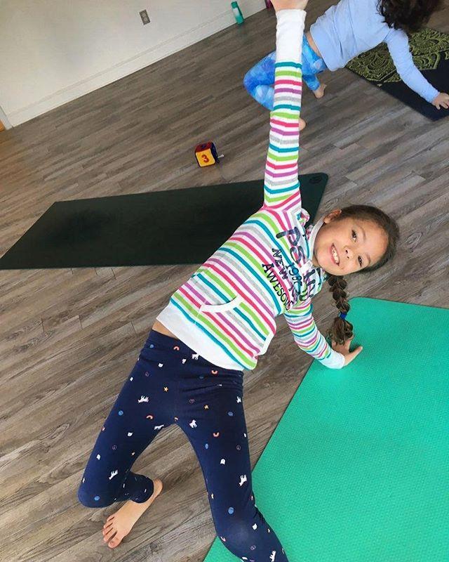 """WOW, Yoga is cool!"" News from this morning's MidSize Yogis ✌🏼😎🤙🏼 #midsizeyogis #kidsyoga #yukatoyoga #yoga #yogateacher #yogapractice #practiceyoga #practicedaily #yogaflow #lehighvalley #pennsylvania #bethlehempa #igbethlehem #yogawithstyle #yogawithfriends #namaste #namasteallday"