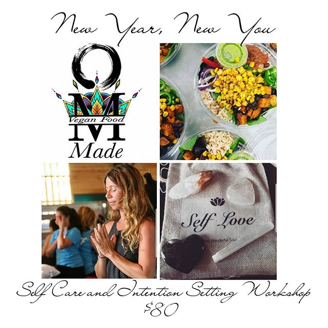 New Year, New You Self Care and  Intention Setting Workshop.  Join Melanie on Saturday December 29th for a Slow Flow and Restorative Workshop from 2:00-3:30. Allowing and creating some down time for self love and self care during the holidays. Following will be a discussion on intention setting from 3:30-4:15, prepping for the new year, new you, and new goals. Then stick around for the nourishing and delicious food from Om-made food along with a little self care from 4:30-6:00. You will be able to pick from one of the following a short henna sitting with Jess, 10 minutes of Reiki with Angie, or a 10 minute chair massage!  Purchase this workshop for you or as a gift. It is better to gift than receive especially when it is a day of self care!  Workshop -$80 Bring a friend/gift a friend (w/the purchase of your workshop)-$65 Time - 2:00-6:30 #yukatoyoga #bethlehempa #bethlehem #igbethlehem #namaste #namasteallday #yogafriends #yogafamily #yogainstyle #yogaeveryday #yogalove #selfcare #selflove #slowflow #restorative #intentionsetting