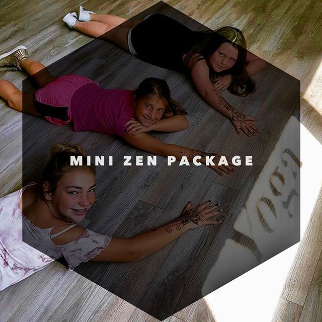 MINI ZEN PACKAGE: Kid Size 6 Pack of yoga classes + a short henna tattoo sitting. Some fun, fancy and focus for the little yogis $65.  Access gift cards directly through our website (link in bio) or pick up in person the next time you are in the studio. #minizen #kidsyoga #henna #yukatoyoga #yoga #yogateacher #yogapractice #practiceyoga #practicedaily #yogaflow #lehighvalley #pennsylvania #bethlehempa #igbethlehem #yogawithstyle #yogawithfriends #namaste #namasteallday