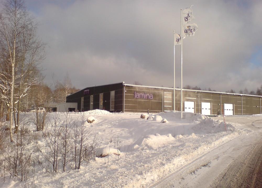 Litho Laminator | Lamina System Factory, Sweden.
