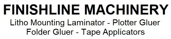 LITHO LAMINATOR, GLUE PLOTTER, FOLDER GLUER, TAPE APPLICATOR