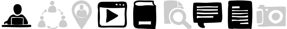 Esta fase tem duração prevista de 2-3semanas com as atividades regulares destacadas pelos ícones acima.