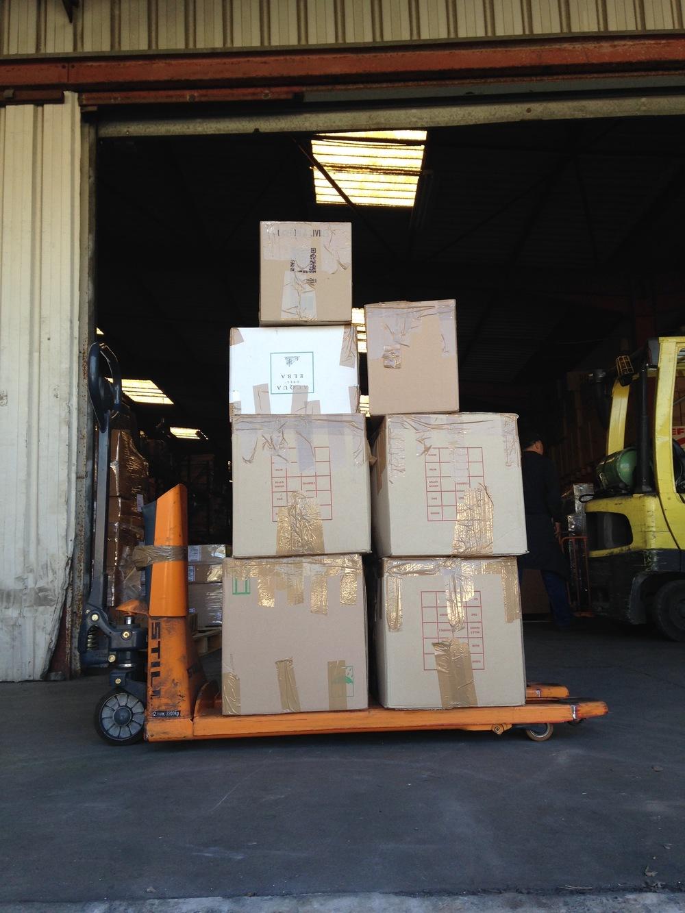 Clothing Donations Leaving Biot, FR for Kastellorizo, GR