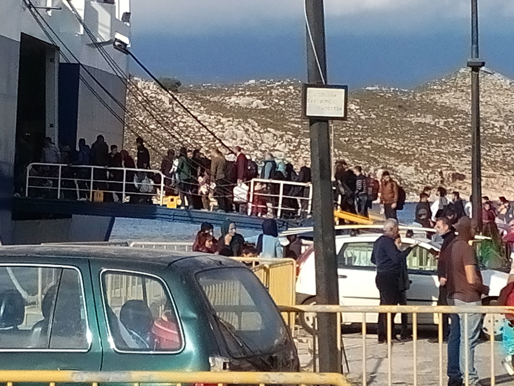 Refugees Departure to Mainland on 23/11/15