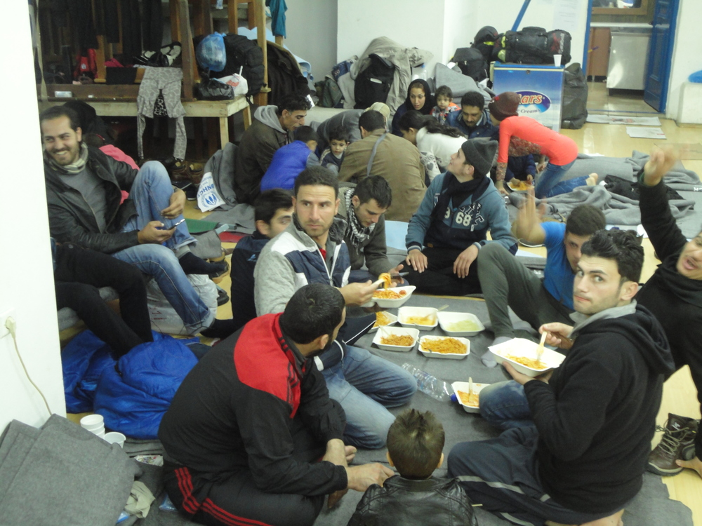 Meal Times in the Hall