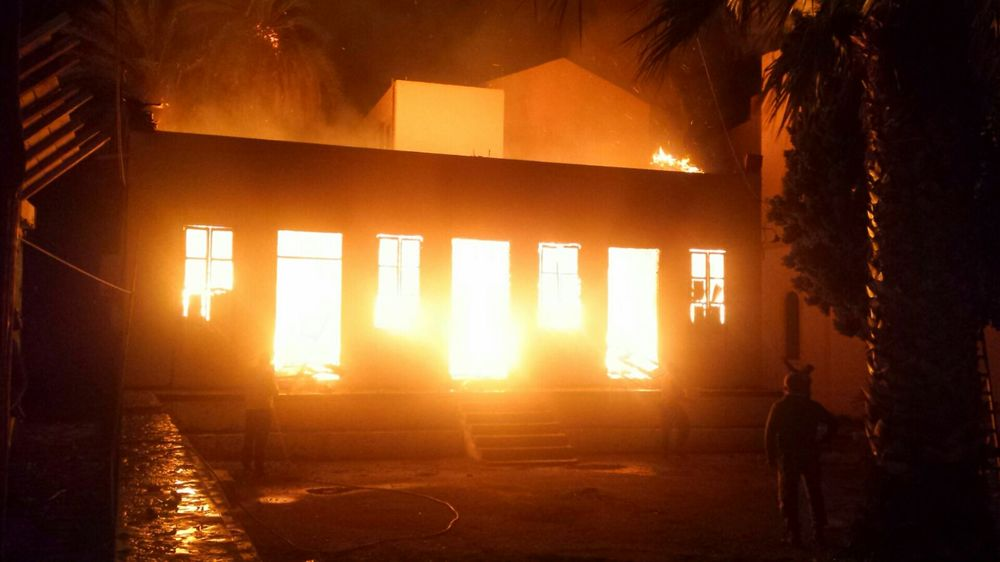 01/03 The storage facility burning down