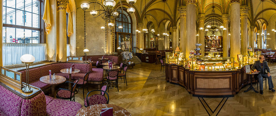 Best Bars Vienna ~ Cafe Central