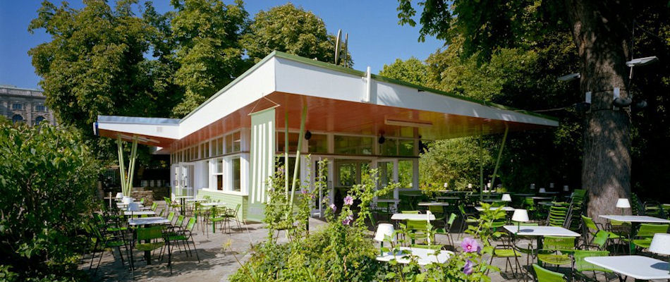 Best Bars Vienna ~ Volksgarten Pavillon