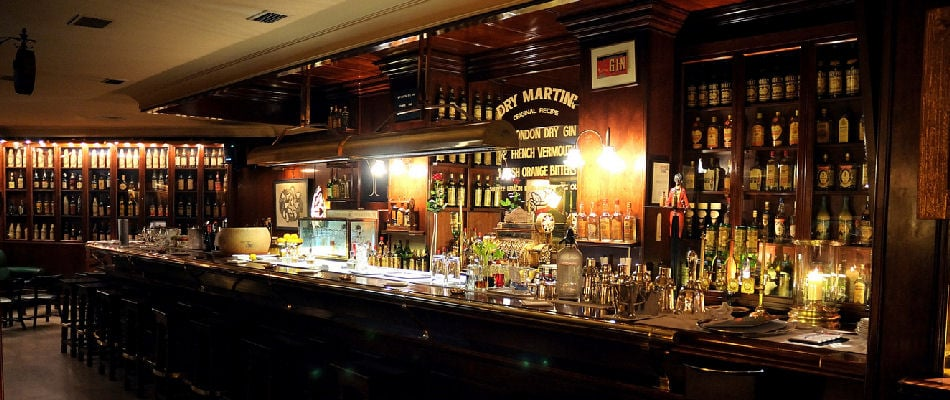 Best Bars Barcelona ~ Dry Martini
