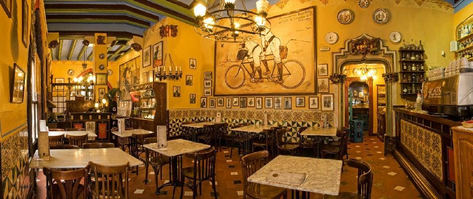 Best Bars Barcelona ~ Els Quatre Gats