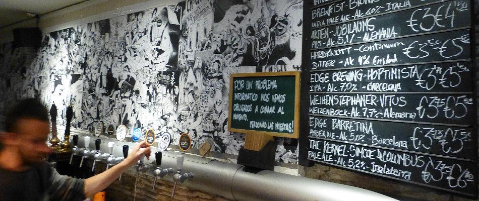 Best Bars Barcelona ~ Ale &Hop