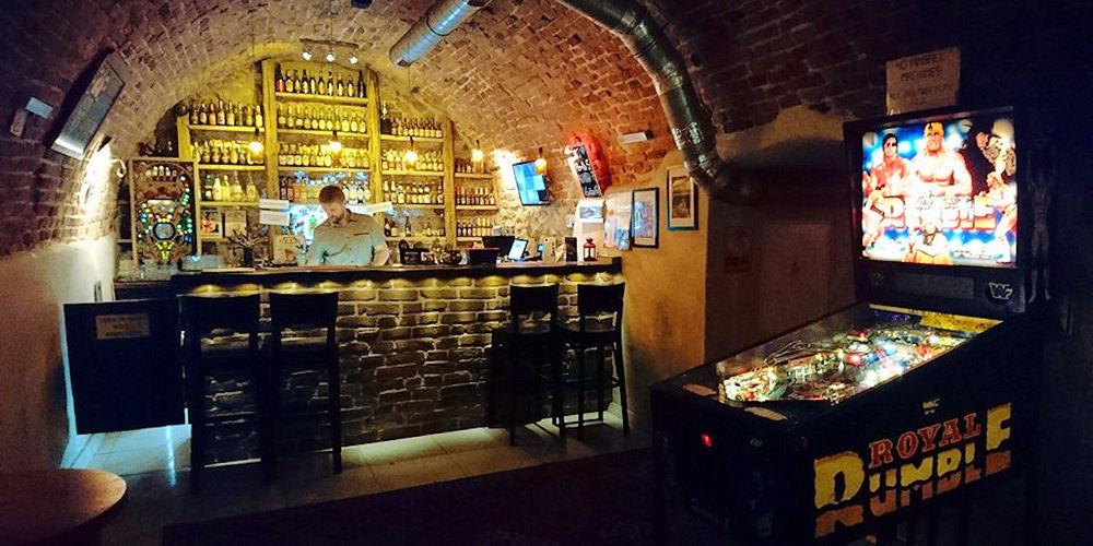 Best Bars Krakow ~ Chmiel Beer Pub / Krakow Pinball Museum