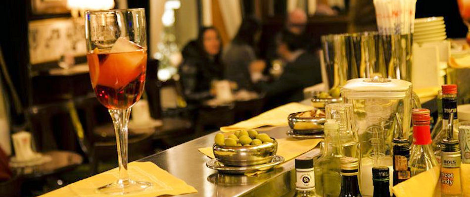 Best Bars Milan ~ Bar Basso / Photo: Bar Basso