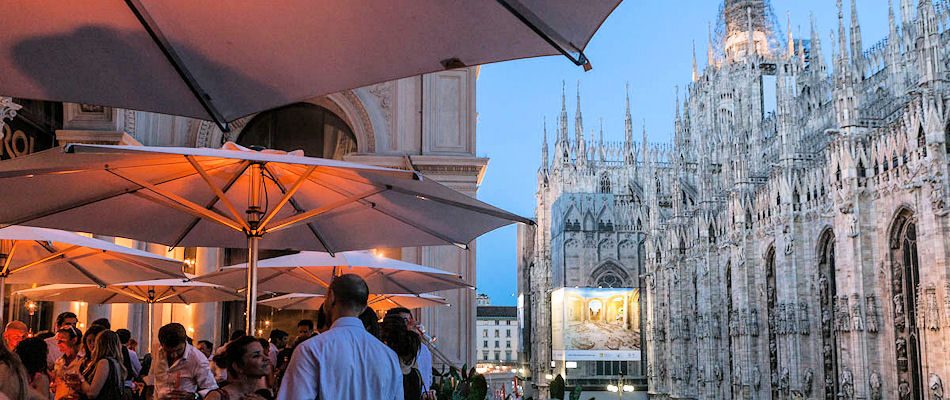 Best Bars Milan ~ Terrazza Aperol / Photo: terrazzaaperol.it