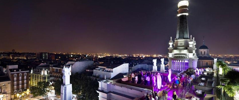 Best Bars Madrid ~ The Roof / Photo: melia.com