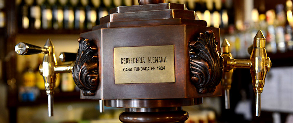 Best Bars Madrid ~ Cerveceria Alemana