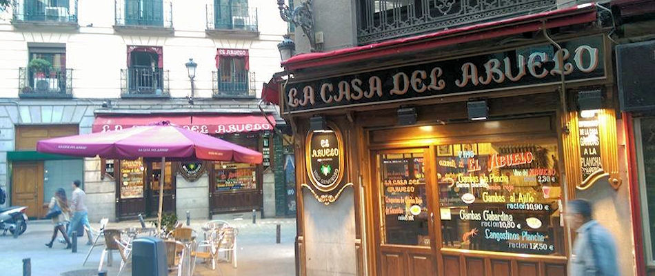 Best Bars Madrid ~ La Casa Del Abuelo
