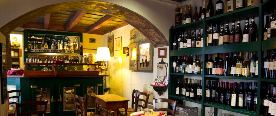 Best Bars Rome ~ Il Piccolo / Photo: Facebook Enoteca-Il-Piccolo