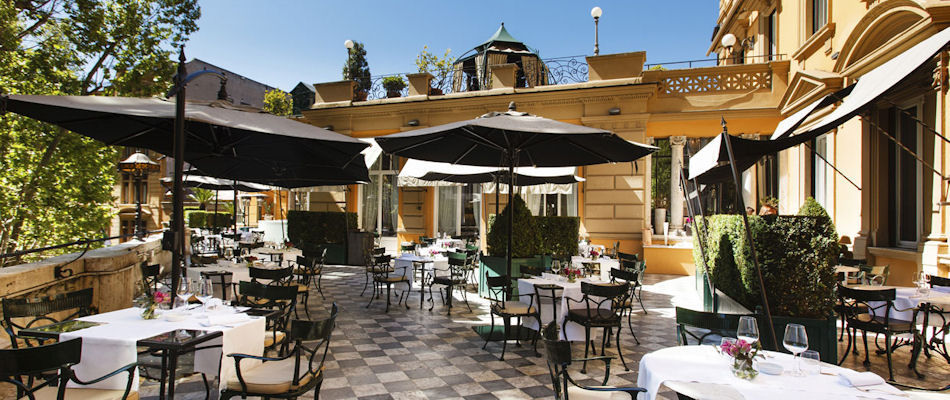 Best Bars Rome ~ R Bar at Hotel Majestic / Photo: hotelmajestic.com
