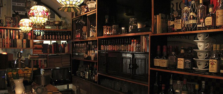 Best Bars Helsinki ~ Books & Antiques / Photo: Facebook Books-Antiques