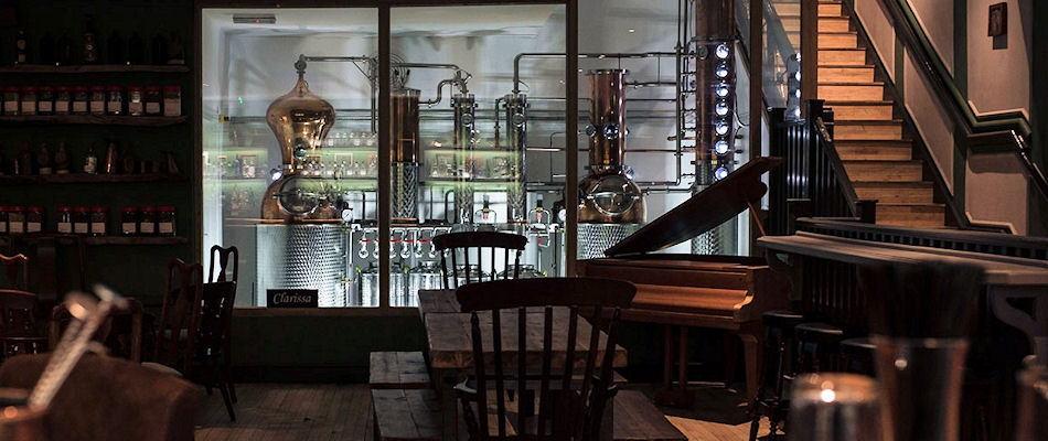 Best Bars London ~ COLD / Photo: cityoflondondistillery.com