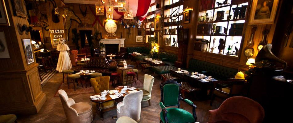 Best Bars London ~ Mr Fogg's Residence / Photo: mr-foggs.com