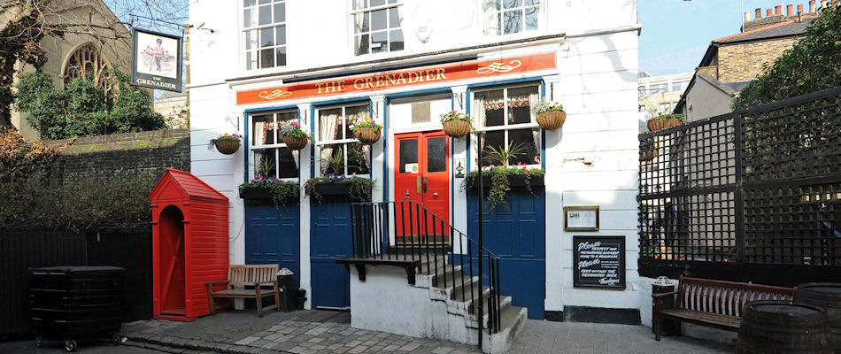 Best Pubs London ~ The Grenadier / Photo: taylor-walker.co.uk