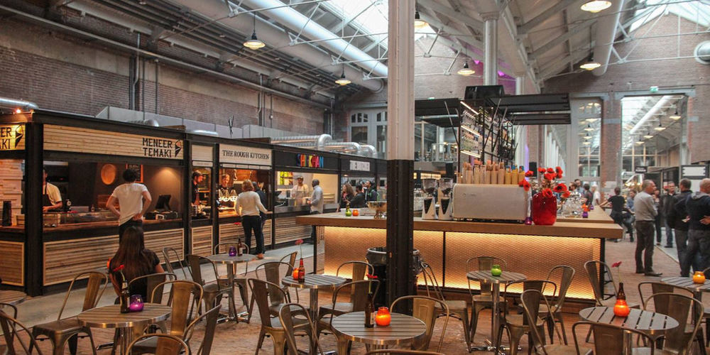 Best Bars Amsterdam ~ Foodhallen / Photo: Facebook foodhallen