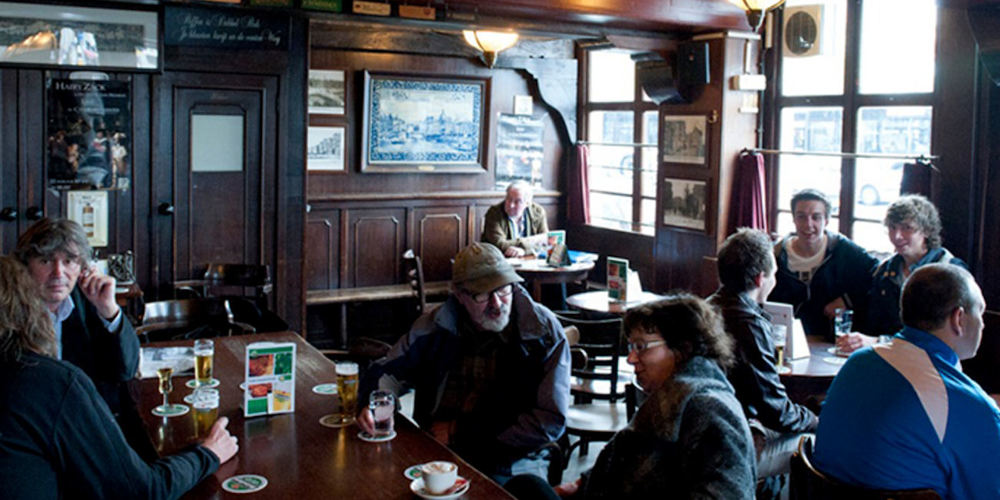 Best Pubs Amsterdam ~ Cafe Karpershoek / Photo: cafekarpershoek.nl
