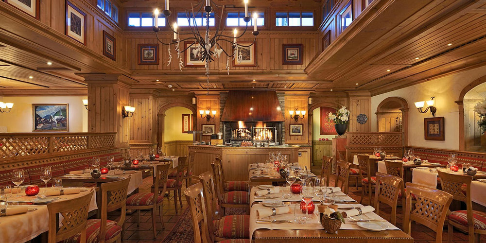 Best Restaurants in Zermatt~ Grill Le Cervin / Photo: montcervinpalace.ch