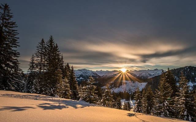Good Morning Oberallgäu by Markus Trienke