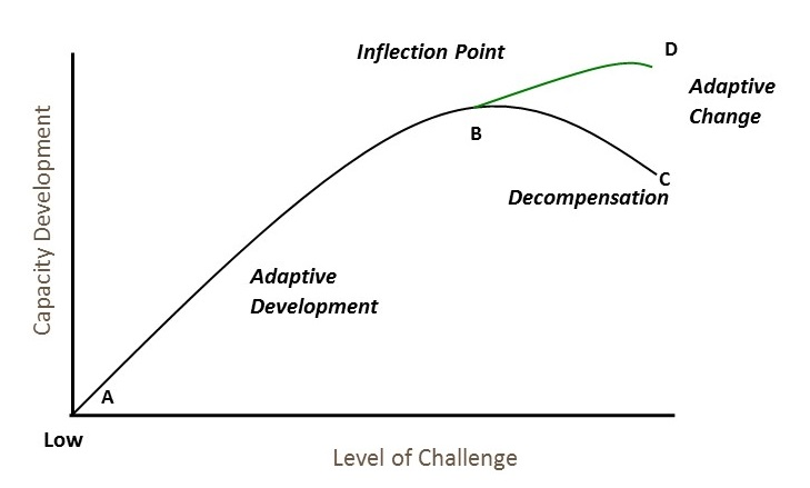 Figure 1. The Challenge-Development Curve